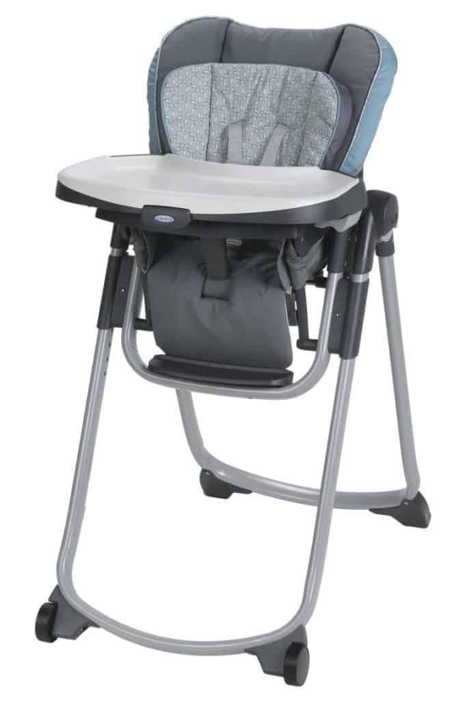 Photo of Graco slim folding high chair