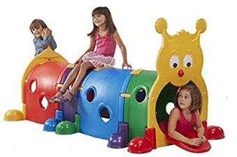 ECR4 Kids GUS Climb Caterpillar Tunnel ; one of the best toddler climbing toys