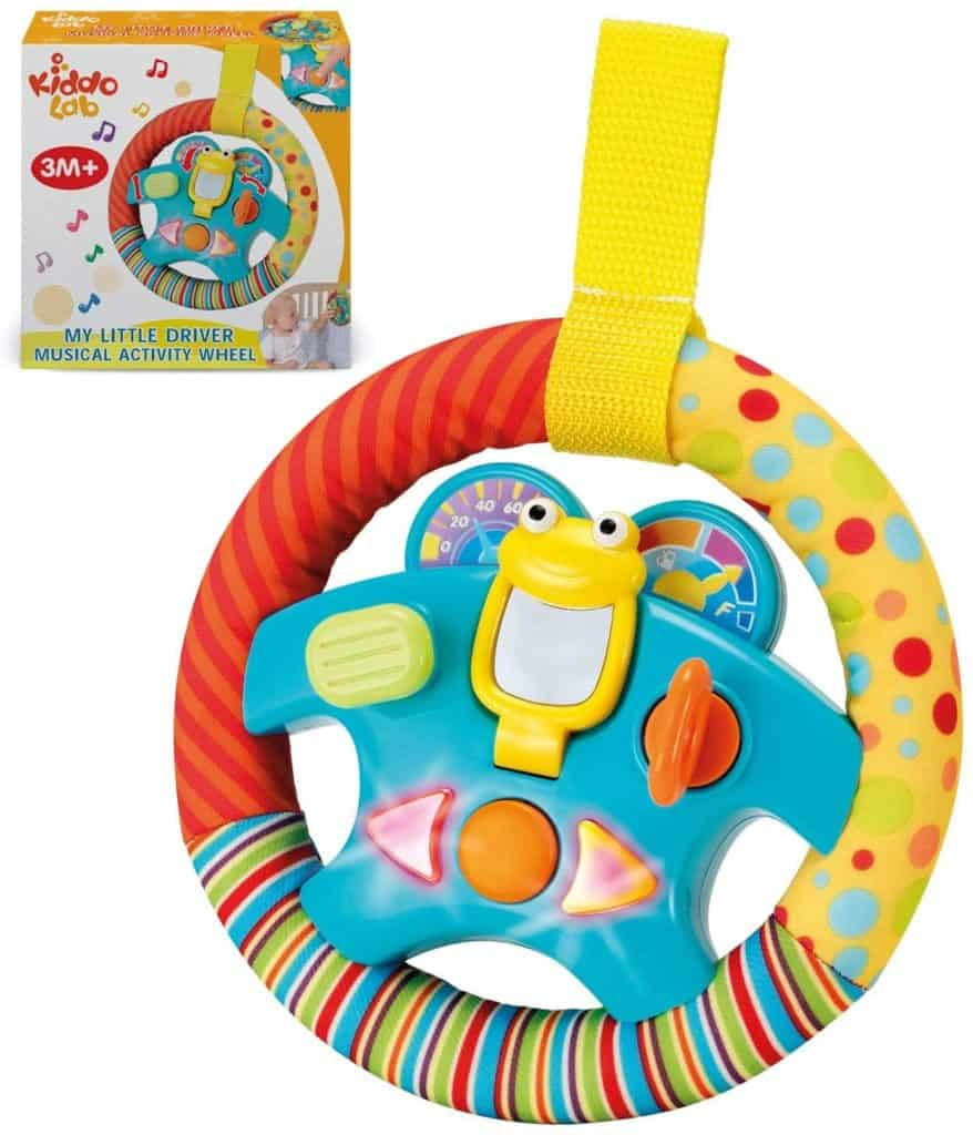 Photo of My little driver toy steering wheel for car seat