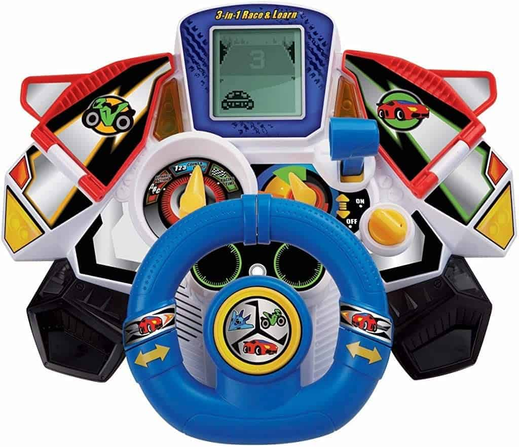 Photo of VTech 3 in 1 toy steering wheel for car seat