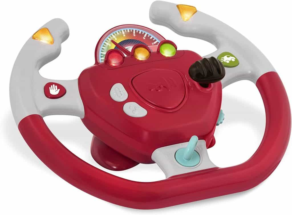 Photo of Battat Gear To Steer toy steering wheel for car seat