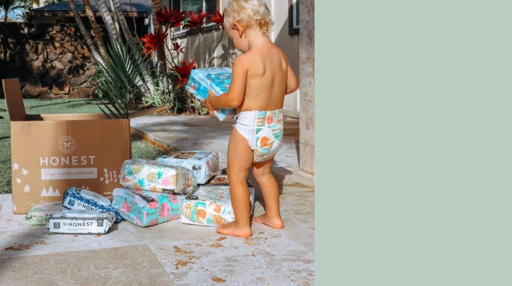 Photo of free baby stuff from The Honest company