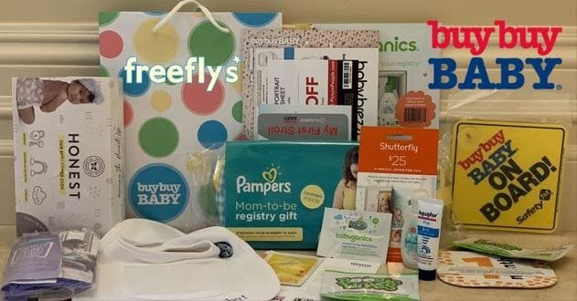 Photo of free baby stuff from buy buy baby store