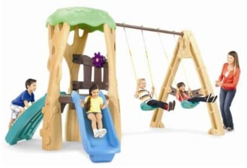 Little Tikes Tree House; one of the best toddler climbing toys