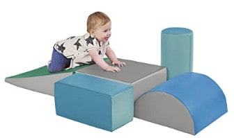 ECR4Kids SoftZone Climb and Crawl Activity Set; one of the best toddler climbing toys