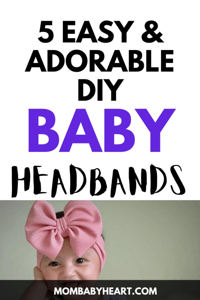 Pin image of Diy Baby headbands