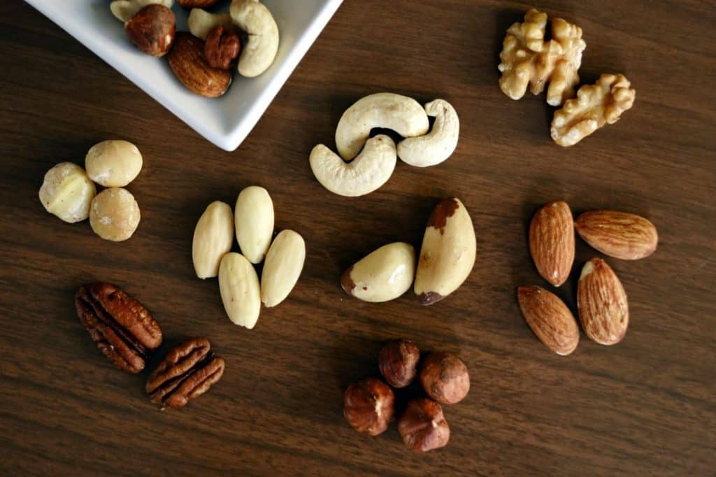 Photo of nuts and seeds; amazing healthy snacks for energy during pregnancy