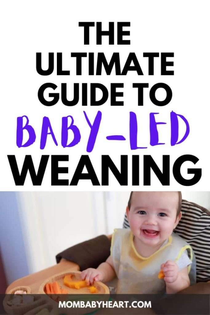 Pin image of baby led weaning