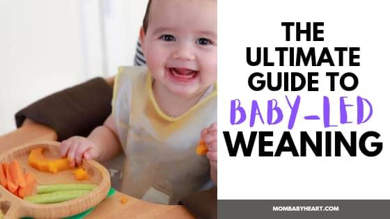 image of baby led weaning
