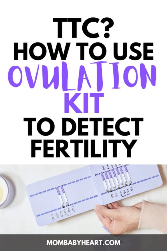 Pin image of how to use ovulation kit