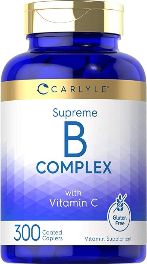 Photo of B-Complex; one of the great supplements for pregnancy